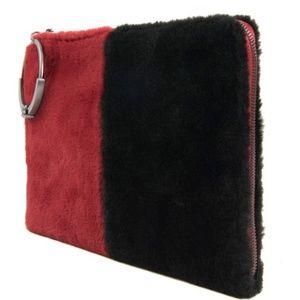Sam Edelman Bags - Sam Edelman Mavis Faux Fur Organizer Clutch